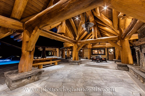 gallery log post beam pioneer log homes midwest. Black Bedroom Furniture Sets. Home Design Ideas