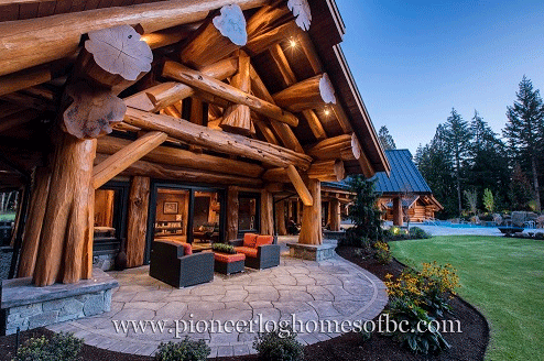 Pioneer log cabins talentneeds pioneer log homes midwest cedar log post and publicscrutiny Image collections