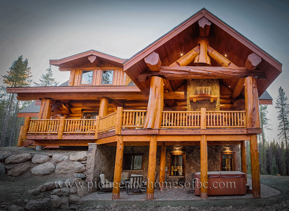 Gallery Log Homes Pioneer Log Homes Midwest