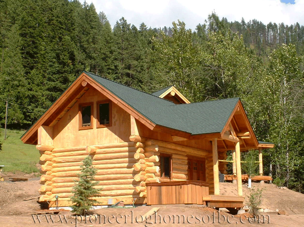 gallery garages and barns pioneer log homes midwest. Black Bedroom Furniture Sets. Home Design Ideas