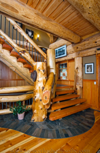 Pioneer-Log-Homes-Midwest-entrances-and-stairs-17