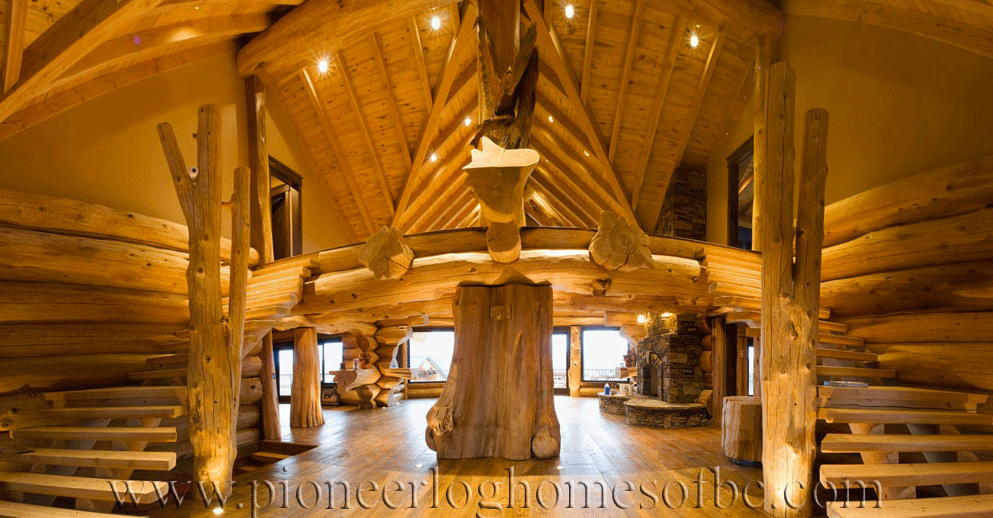 Pioneer-Log-Homes-Midwest-entrances-and-stairs-3