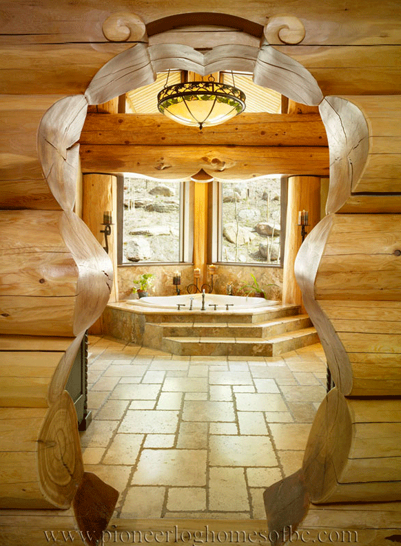 Pioneer-Log-Homes-Midwest-entrances-and-stairs-8