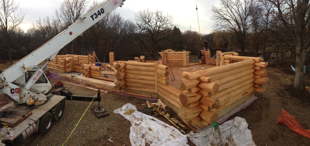 Midwest Log Home Construction