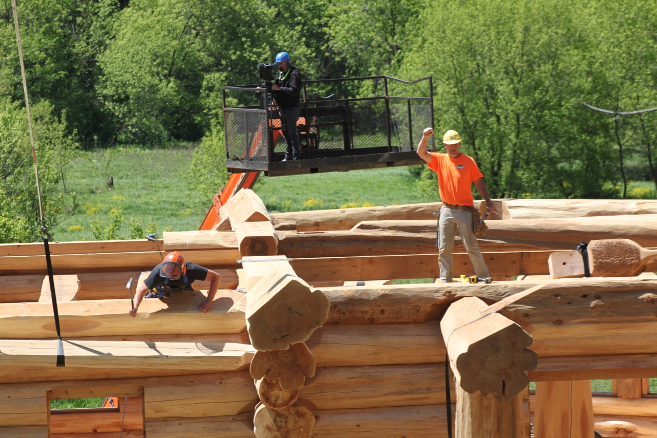 Midwest Pioneer Log Home Construction