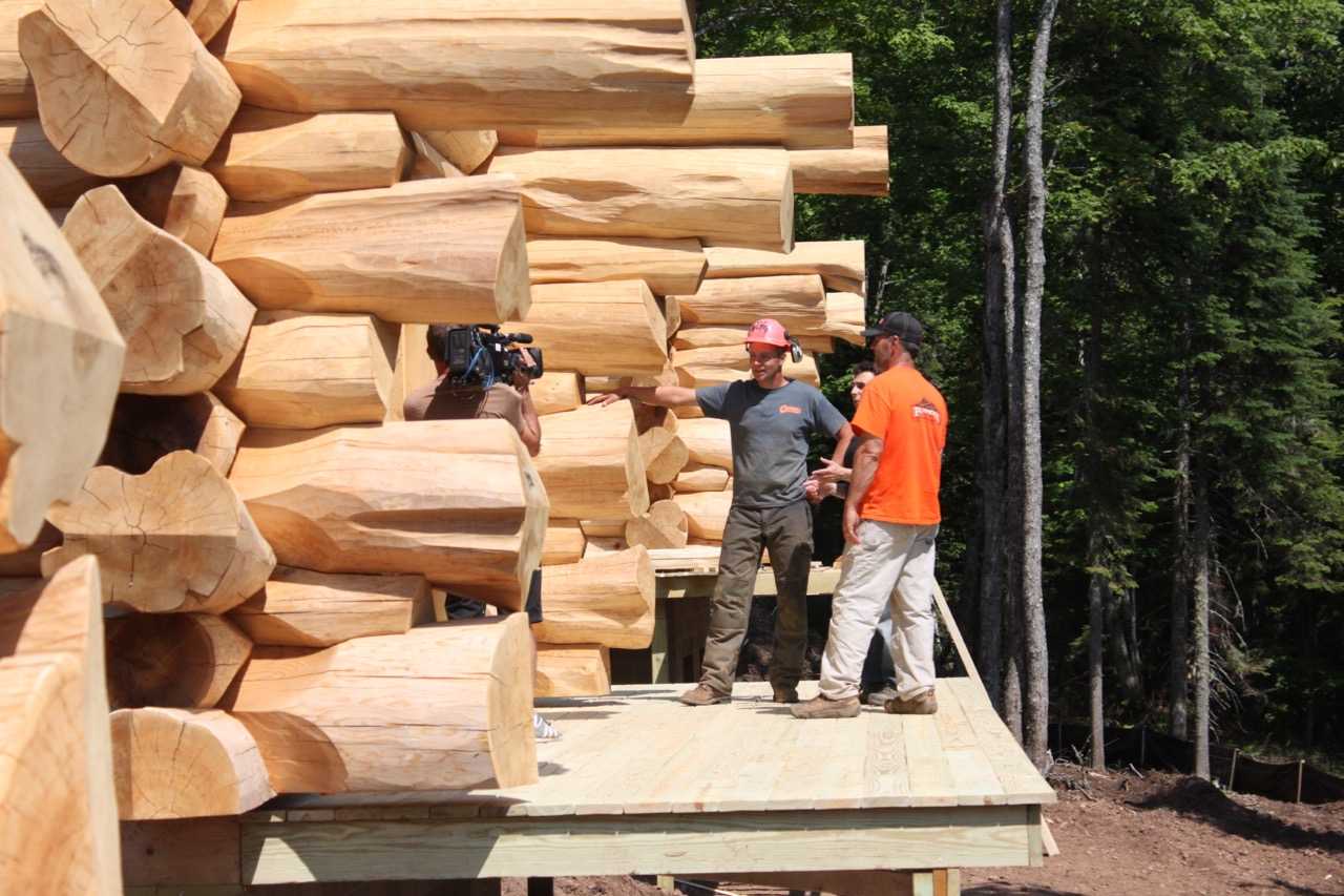 Builders pioneer log homes midwest for Midwest home builders