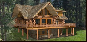 Pioneer Log Homes Midwest - Shastina
