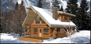 Pioneer Log Homes Midwest-Show Home