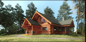 Pioneer Log Homes Midwest - Southbury