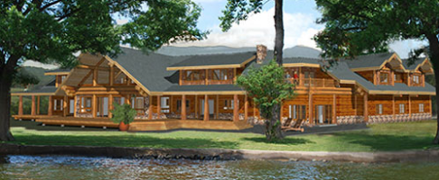 4500 sq ft archives pioneer log homes midwest. Black Bedroom Furniture Sets. Home Design Ideas