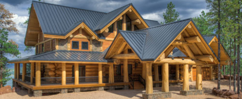 Floor Plans 3000 4500 Sq Ft Pioneer Log Homes Midwest