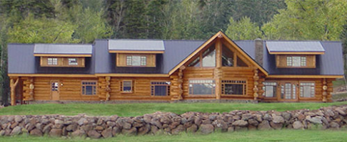 Pioneer log homes midwest- Ranch House