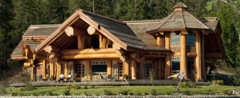 Pioneer log homes midwest- Signal Point