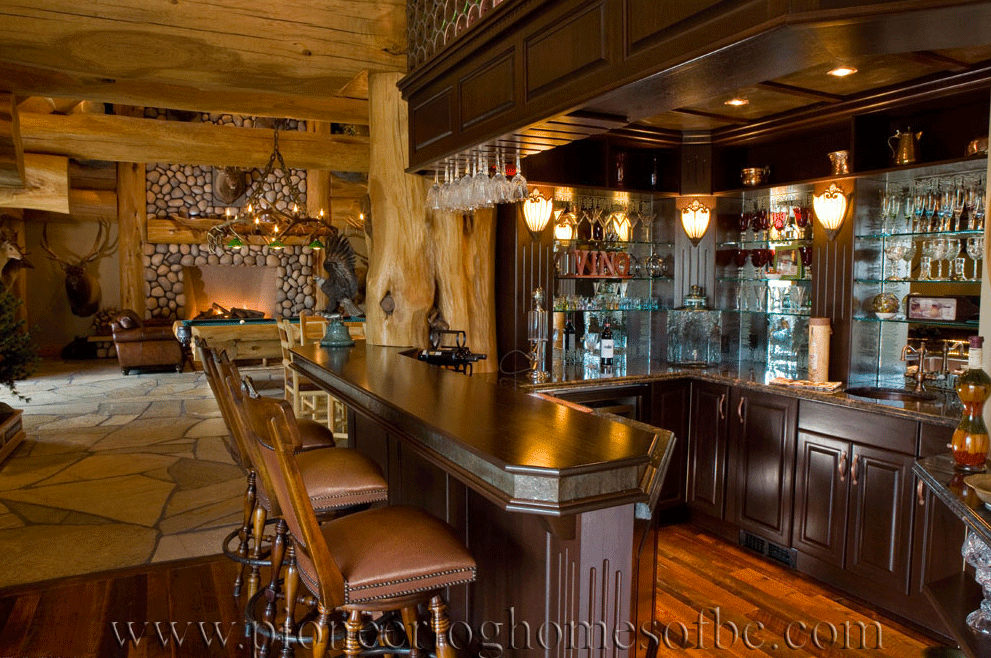 Gallery Bars And Game Rooms Pioneer Log Homes Midwest